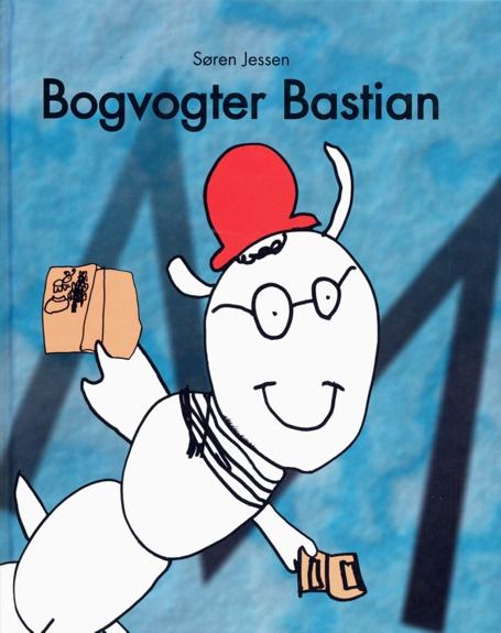 Bogvogter Bastian forside