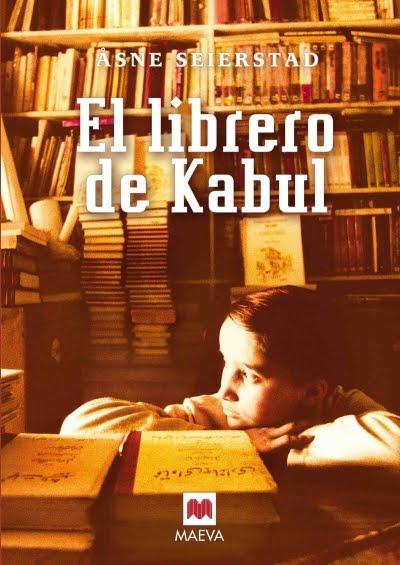 Librero de Kabul, portada de libro
