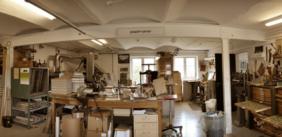 Besøg i bogbinderens værksted