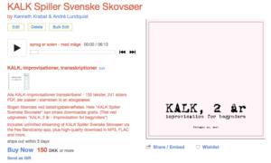KALK spiller svenske skovsøer