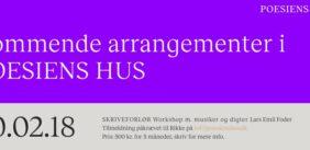 PoesiensHus Skriveforløb fra 20.2.18