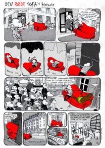 160504: Rød sofa tegneserie