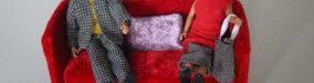Anne Cathrine Bomann og Maria Johansen gæster Den Røde Sofa