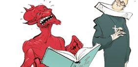 Kristendommens forhold til karikatur og satire