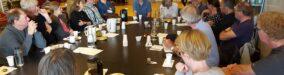 Fyraftensmøde i Aarhusgruppen: Nyeste udgivelser og erfaringer i gruppen