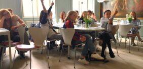 Vækstlaget på besøg i Dansk Forfatterforening